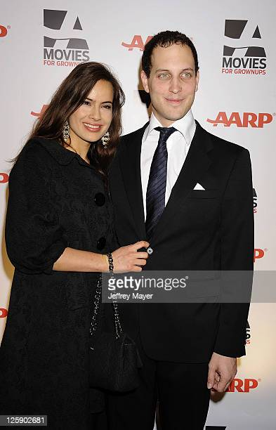 Lady Sophie Windsor and Lord Frederick Windsor attend the AARP The Magazine's 10th Annual Movies for Grownups Award Gala at The Beverly Hilton hotel...