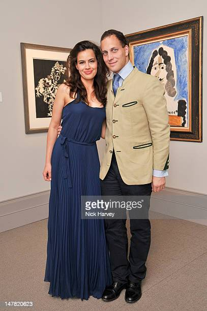 Lady Sophie Windsor and Lord Frederick Windsor attend The Masterpiece Midsummer Party at Royal Hospital Chelsea on July 3 2012 in London England