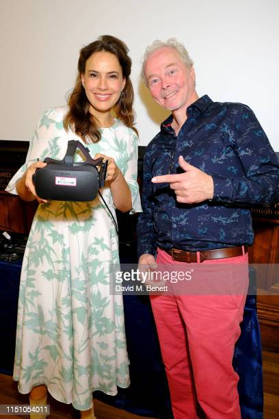 Lady Sophie Windsor and Marcel Schreur attend the opening of The London Art Biennale at Chelsea Old Town Hall on May 22 2019 in London England