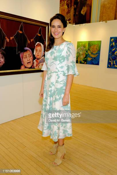 Lady Sophie Windsor attends the opening of The London Art Biennale at Chelsea Old Town Hall on May 22 2019 in London England
