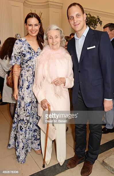 Lady Sophie Windsor Princess George Galitzine and Lord Frederick Windsor attend the drinks reception hosted by Dockers the San Francisco based...