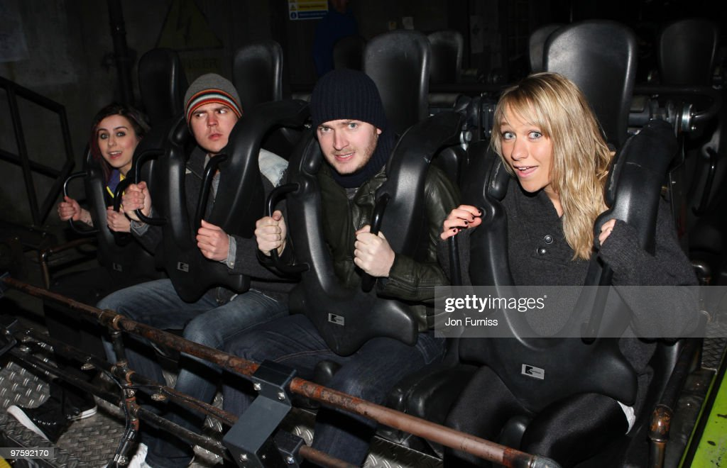 ACCESS** (L-R) Lady Sovereign, Darren Jeffries, Mark Littler and Chloe Madeley attends the launch of SAW Alive - the world's most extreme live horror maze at Thorpe Park on March 9, 2010 in Chertsey, England.