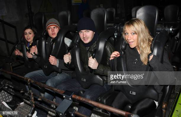 ACCESS** Lady Sovereign Darren Jeffries Mark Littler and Chloe Madeley attends the launch of SAW Alive the world's most extreme live horror maze at...