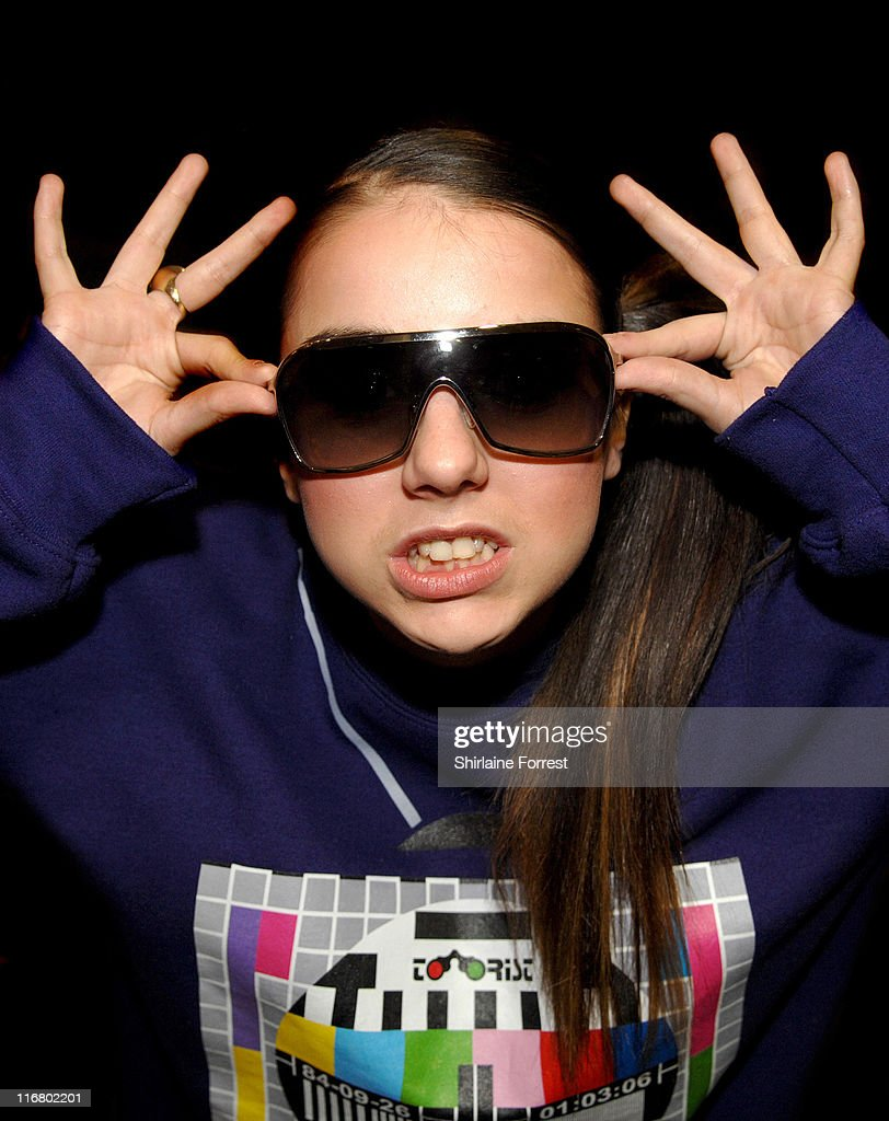 Lady Sovereign during Lady Sovereign Live at the T Mobile Street Gig Concert - April 12, 2007 at Pole Position Race Track in Leeds, United Kingdom.