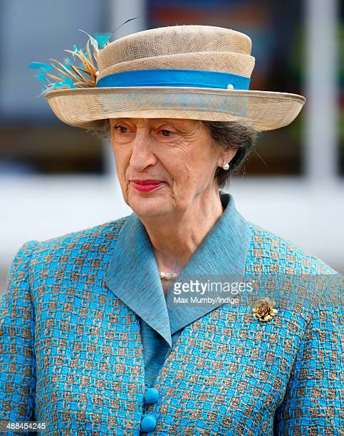 Lady Susan Hussey attends a service at Chelmsford Cathedral as part of the centenary celebrations of Chelmsford Diocese during day of engagements in...
