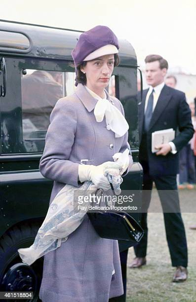 Lady Susan Hussey Woman of the Bedchamber to Queen Elizabeth II at the Royal Windsor Show in Berkshire circa 1970