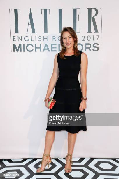 Lady Tatiana Mountbatten attends Tatler's English Roses 2017 in association with Michael Kors at the Saatchi Gallery on June 29 2017 in London England