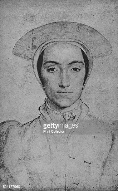 Unknown' c15321543 The drawing is part of the Royal Collection Trust Windsor Castle From The Drawings of Holbein at Windsor Castle by K T Parker [The...