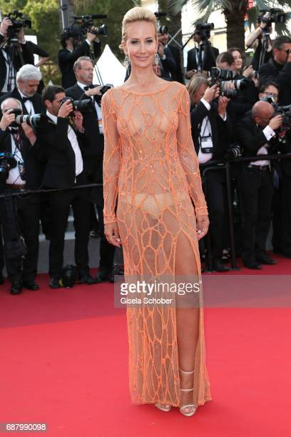Lady Victoria Harvey during 'The Beguiled' premiere during the 70th annual Cannes Film Festival at Palais des Festivals on May 24 2017 in Cannes...