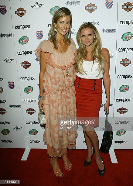 Lady Victoria Hervey and guest during Complex Magazine Celebrates 5th Anniversary at Area in West Hollywood California United States