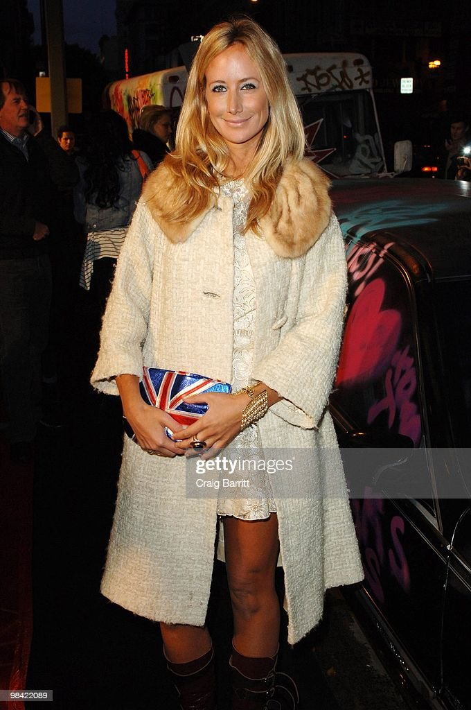 Lady Victoria Hervey arrives at Banksy's 'Exit Through The Gift Shop' Los Angeles Premiere on April 12, 2010 in Los Angeles, California.