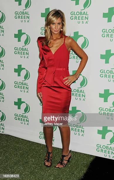 Lady Victoria Hervey arrives at Global Green USA's 10th Annual PreOscar party at Avalon on February 20 2013 in Hollywood California