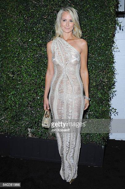 Lady Victoria Hervey arrives at Max Mara Celebrates Natalie DormerThe 2016 Women In Film Max Mara Face Of The Future at Chateau Marmont on June 14...
