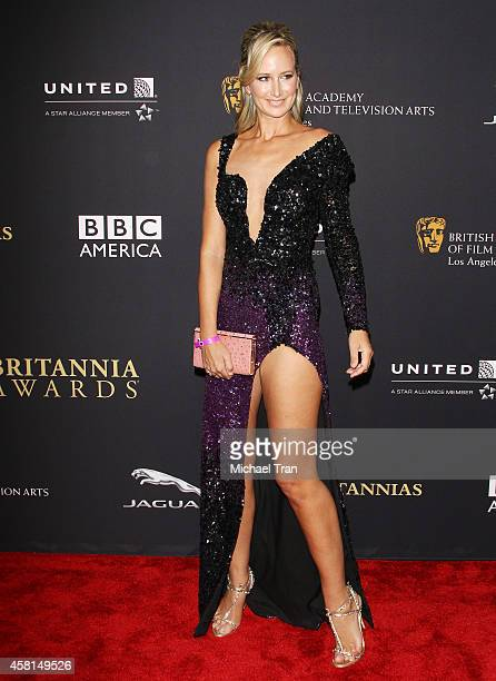 Lady Victoria Hervey arrives at the BAFTA Los Angeles Jaguar Britannia Awards held at The Beverly Hilton Hotel on October 30 2014 in Beverly Hills...