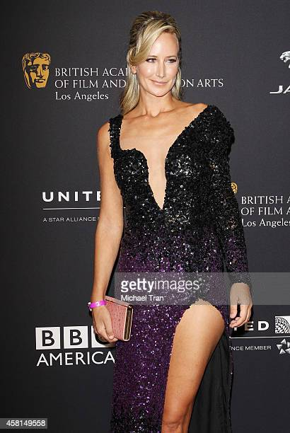 Lady Victoria Hervey arrives at the BAFTA Los Angeles Jaguar Britannia Awards held at The Beverly Hilton Hotel on October 30, 2014 in Beverly Hills,...