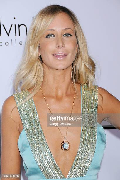 Lady Victoria Hervey arrives at the Calvin Klein Collection and Los Angeles Nomadic Division Present L.A. Arts Month on January 28, 2010 in Los...