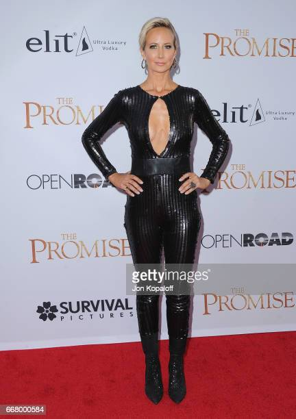 Lady Victoria Hervey arrives at the Los Angeles Premiere 'The Promise' at TCL Chinese Theatre on April 12 2017 in Hollywood California