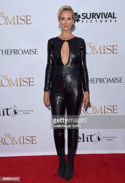 Lady Victoria Hervey arrives at the Premiere of Open Road Films' 'The Promise' at TCL Chinese Theatre on April 12 2017 in Hollywood California