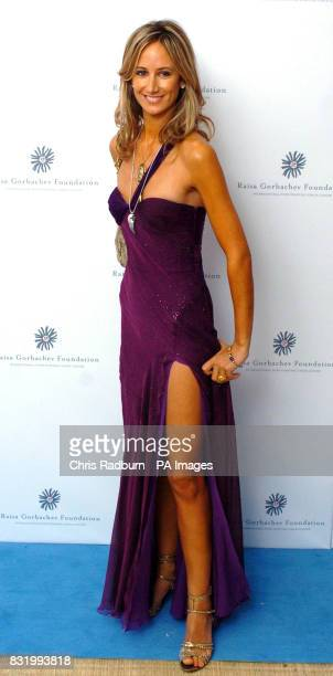 Lady Victoria Hervey arrives at the Raisa Gorbachev Foundation Russian Ball at Althorp House Northamptonshire PRESS ASSOCIATION Photo Picture date...