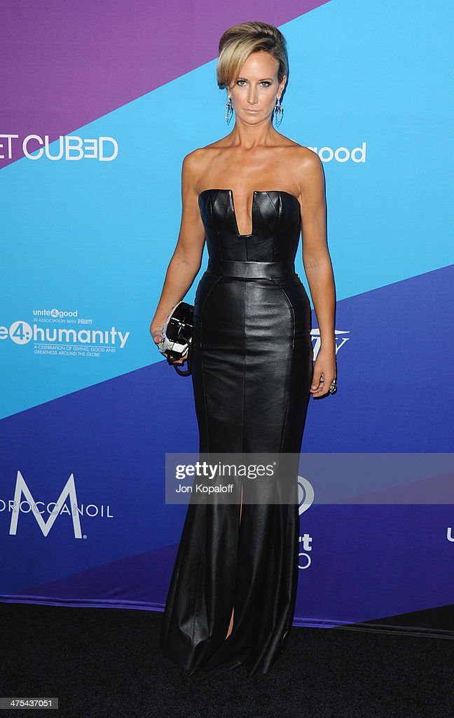 Lady Victoria Hervey arrives at Unite4good And Variety Host 1st Annual Unite4:humanity Event on February 27, 2014 in Los Angeles, California.