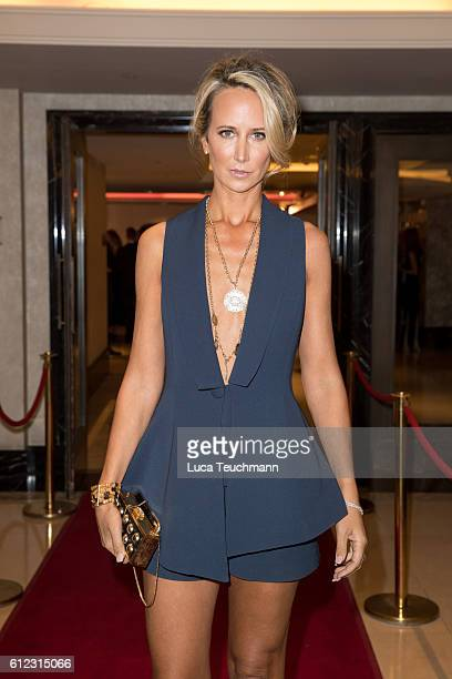 Lady Victoria Hervey arrives for the London Lifestyle Awards at Lancaster London Hotel on October 3 2016 in London England