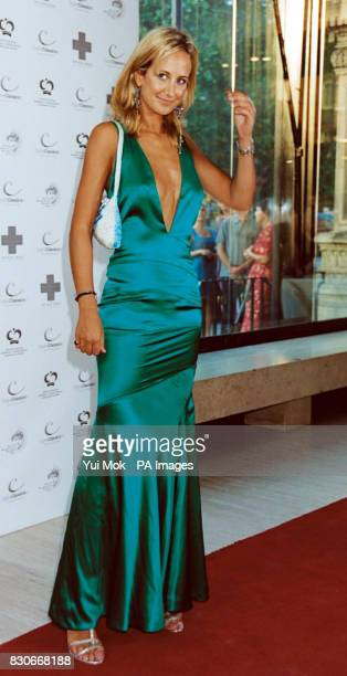 Lady Victoria Hervey arriving to see Spanish opera star Monserrat Caballe Michael Ball and Bolshoi ballerina Anastacia Volochkova star in Midsummer...