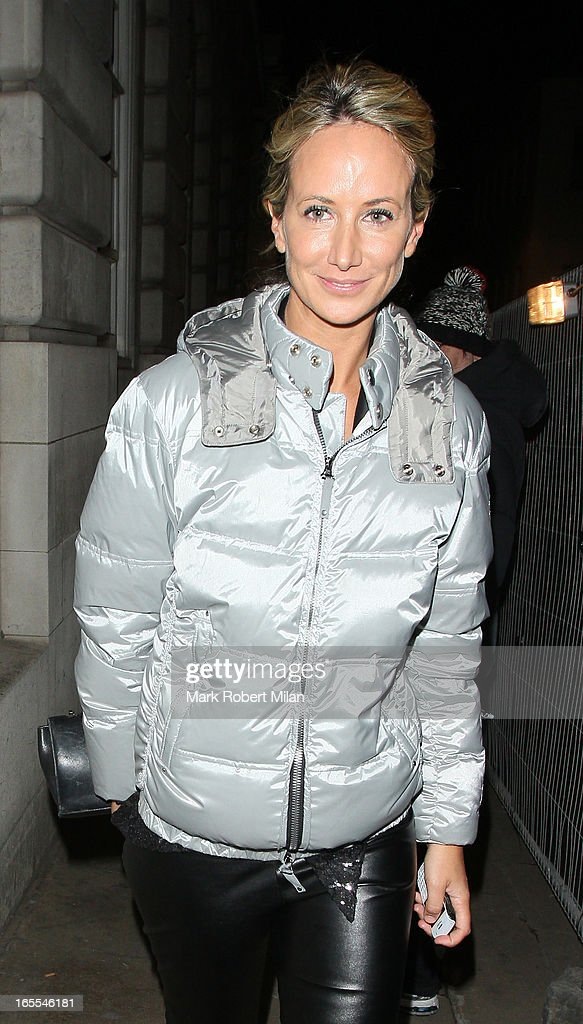 Lady Victoria Hervey at Lou Lou's club on April 4, 2013 in London, England.
