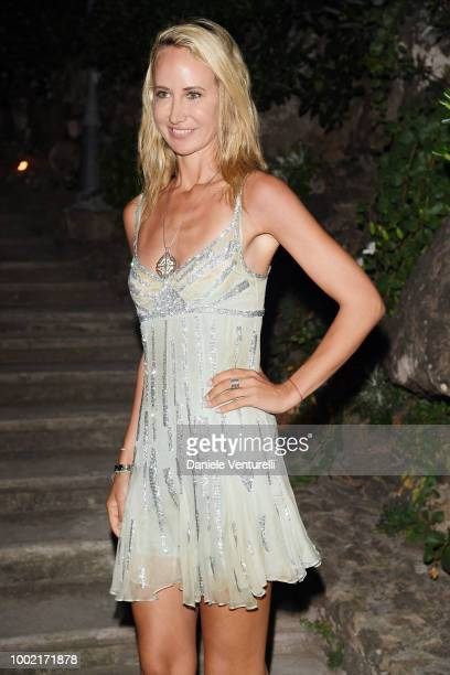 Lady Victoria Hervey attends 2018 Ischia Global Film Music Fest on July 19 2018 in Ischia Italy