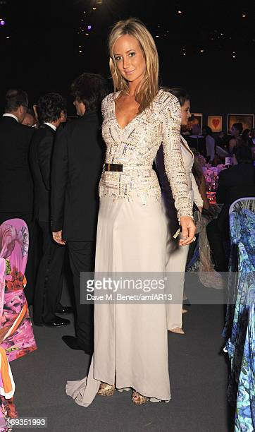 Lady Victoria Hervey attends amfAR's 20th Annual Cinema Against AIDS during The 66th Annual Cannes Film Festival at Hotel du CapEdenRoc on May 23...