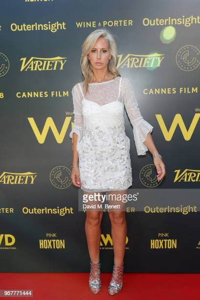 Lady Victoria Hervey attends as WIFT International with Variety Alliance of Women Directors host a cocktail party during the 71st Cannes Film...