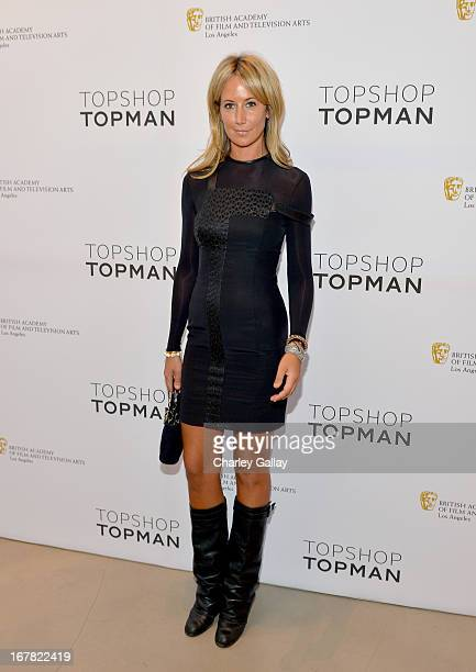 Lady Victoria Hervey attends BAFTA Los Angeles and Sir Philip Green Celebrate the British New Wave at Topshop Topman at The Grove on April 30 2013 in...
