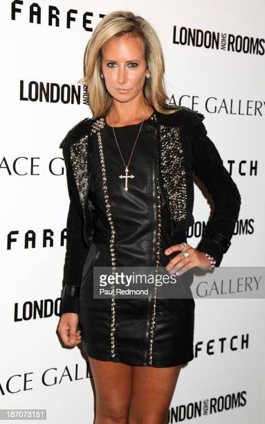 Lady Victoria Hervey attends British Fashion Counsel Celebrates London Show Rooms LA Spring/Summer 2014 at Ace Gallery on November 5 2013 in Beverly...