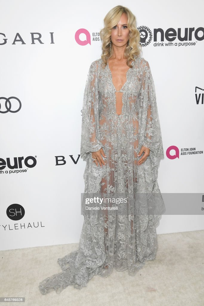 Lady Victoria Hervey attends Bulgari at the 25th Annual Elton John AIDS Foundation's Academy Awards Viewing Party at on February 26, 2017 in Los Angeles, California.