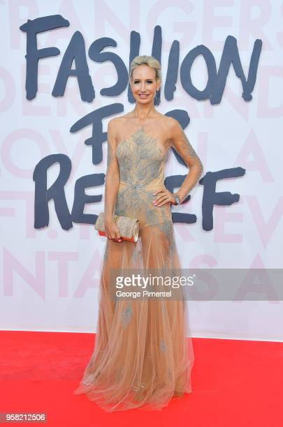 Lady Victoria Hervey attends Fashion For Relief Cannes 2018 during the 71st annual Cannes Film Festival at Aeroport Cannes Mandelieu on May 13 2018...