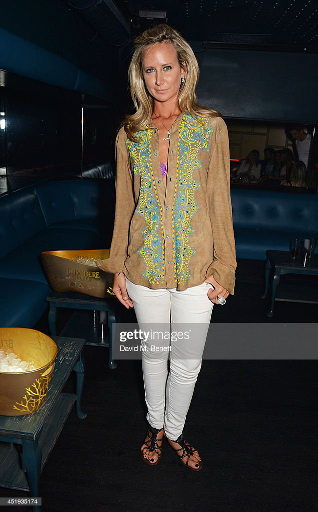 Lady Victoria Hervey attends Jo Wood and Yasmin Mill's Summer Party at Boujis on July 9, 2014 in London, England.