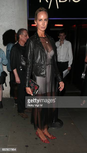 Lady Victoria Hervey attends LOTD launch party at Radio Rooftop Bar on August 16 2017 in London England