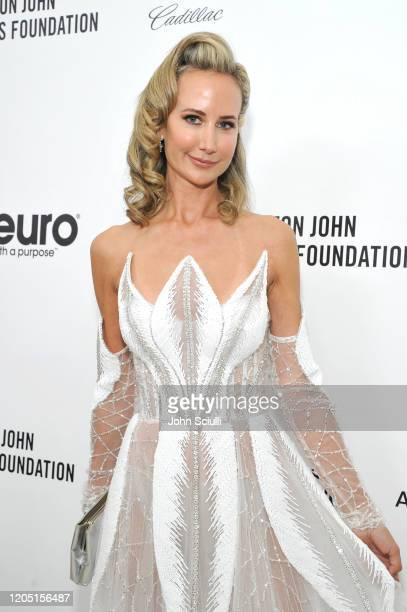 Lady Victoria Hervey attends Neuro Brands Presenting Sponsor At The Elton John AIDS Foundation's Academy Awards Viewing Party on February 09 2020 in...