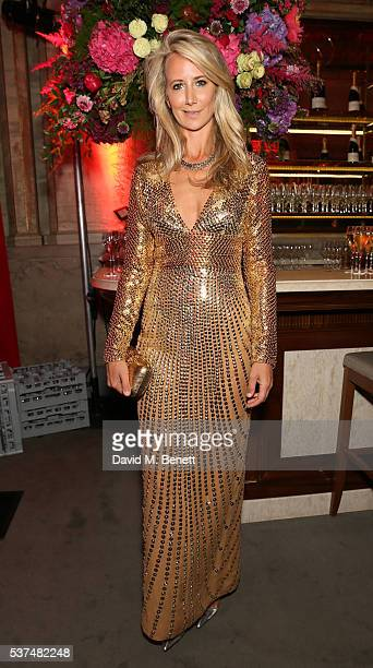 Lady Victoria Hervey attends Tatler's 'Kings And Queens' party at Savini at Criterion on June 1 2016 in London England