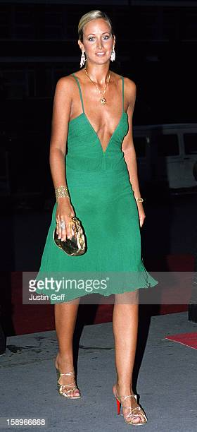 Lady Victoria Hervey Attends The 2001 Gq Magazine 'Men Of The Year' Awards At London'S Victoria And Albert Museum