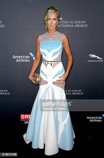 Lady Victoria Hervey attends the 2016 AMD British Academy Britannia Awards presented by Jaguar Land Rover and American Airlines at The Beverly Hilton...