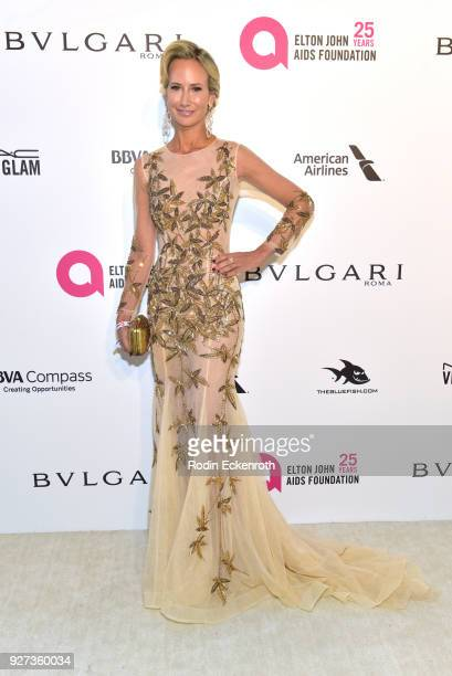 Lady Victoria Hervey attends the 26th annual Elton John AIDS Foundation's Academy Awards Viewing Party at The City of West Hollywood Park on March 4...