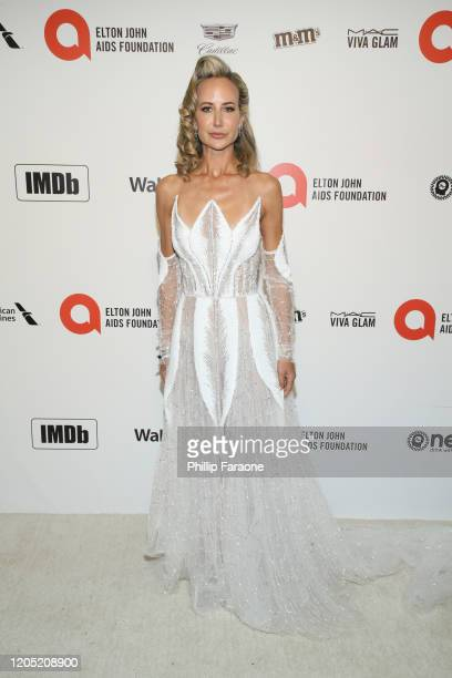 Lady Victoria Hervey attends the 28th Annual Elton John AIDS Foundation Academy Awards Viewing Party Sponsored By IMDb Neuro Drinks And Walmart on...
