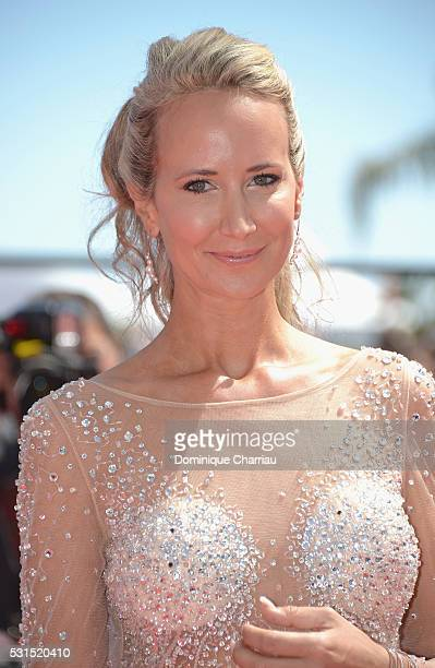 Lady Victoria Hervey attends the 'American Honey' premiere during the 69th annual Cannes Film Festival at the Palais des Festivals on May 15 2016 in...