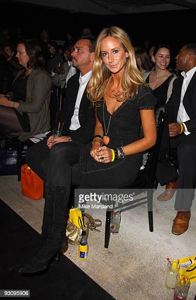 Lady Victoria Hervey attends the Anglomania show by Vivienne Westwood at Selfridges on November 16 2009 in London England