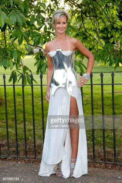 Lady Victoria Hervey attends the annual Serpentine Galley Summer Party at The Serpentine Gallery on July 1 2014 in London England