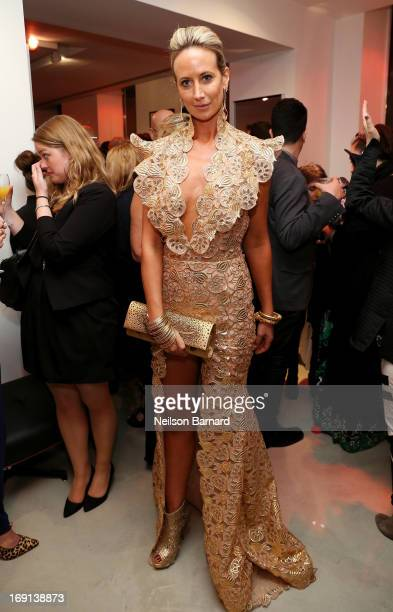 Lady Victoria Hervey attends the Art Of Elysium PARADIS during the 66th Annual Cannes Film Festival at L' Oservatoire on May 20 2013 in Cannes France