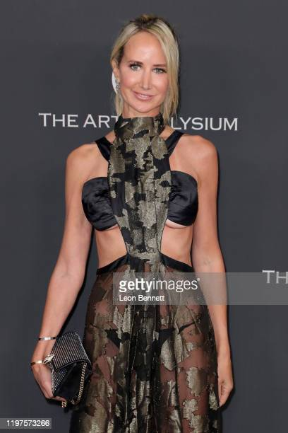Lady Victoria Hervey attends The Art Of Elysium's 13th Annual Celebration - Heaven at Hollywood Palladium on January 04, 2020 in Los Angeles,...