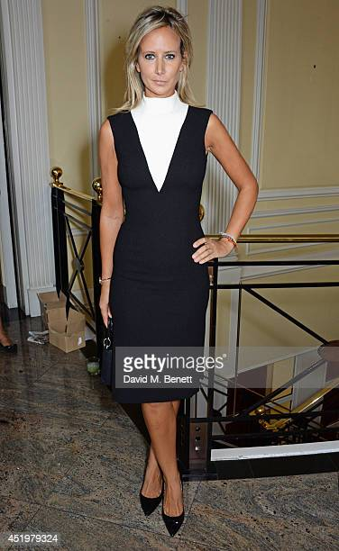 Lady Victoria Hervey attends The Art Of Futebol charity auction in support of Action for Brazil's Children Trust at the Embassy of Brazil on July 10...