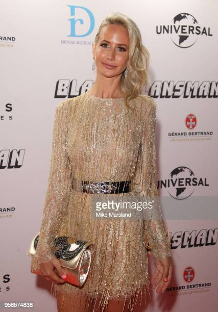 Lady Victoria Hervey attends the BlacKkKlansman After Party during the 71st annual Cannes Film Festival at on May 14 2018 in Cannes France