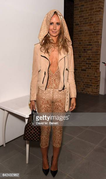Lady Victoria Hervey attends the British Fashion Council Fashion Film x River Island film screening and cocktail party at The Serpentine Sackler...